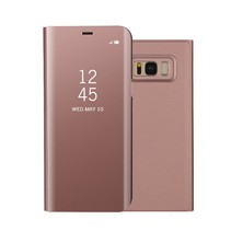 Booktype Hoesje Samsung Galaxy S8 Plus - Rose Goud