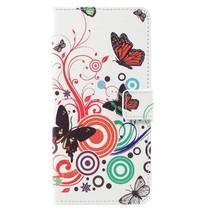 Booktype Hoesje Samsung Galaxy S8 Plus - Vlinders