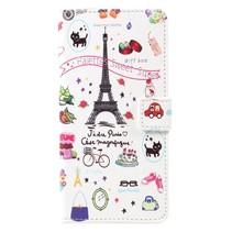 Booktype Hoesje Samsung Galaxy S8 Plus - Eiffeltoren