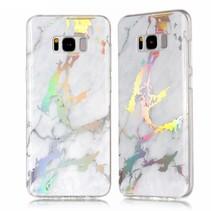 TPU Hoesje Samsung Galaxy S8 Plus - Marmer