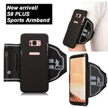 Armband Hoesje Samsung Galaxy S8 Plus - Zwart