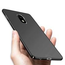 Hardcase Hoesje Samsung Galaxy J3 (2017) - Zwart