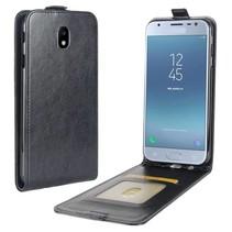 Flipcase Hoesje Samsung Galaxy J3 (2017) - Zwart