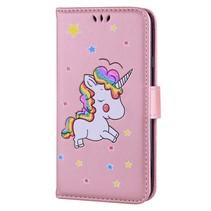 Booktype Hoesje Samsung Galaxy J3 (2017) - Unicorn