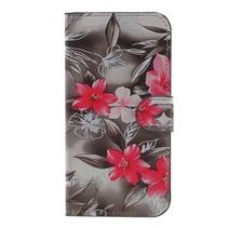 Booktype Hoesje Samsung Galaxy J3 (2017) - Bloemen