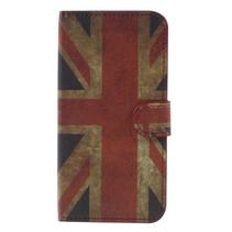 Booktype Hoesje Samsung Galaxy J7 (2017) - Britse Vlag