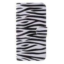 Booktype Hoesje Samsung Galaxy J7 (2017) - Zebra