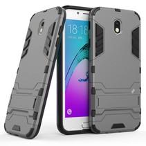 Hybrid Hoesje Samsung Galaxy J7 (2017) - Grijs