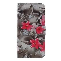 Booktype Hoesje Samsung Galaxy J5 (2017) - Roze Bloemen