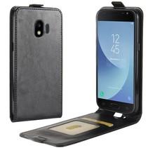 Flipcase Hoesje Samsung Galaxy J2 Pro 2018 - Zwart