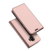 Booktype Hoesje Samsung Galaxy J2 Pro 2018 - Rose Goud