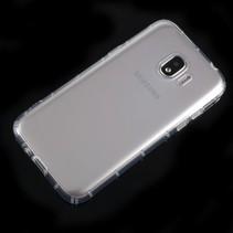 TPU Hoesje Samsung Galaxy J2 Pro 2018 - Transparant