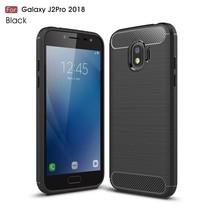 TPU Hoesje Samsung Galaxy J2 Pro 2018 - Zwart
