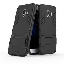 Hybrid Hoesje Samsung Galaxy J2 Pro 2018 - Zwart