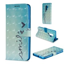 Booktype Hoesje Samsung Galaxy S9 Plus - Smile