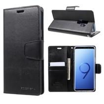 Booktype Hoesje Samsung Galaxy S9 Plus - Zwart