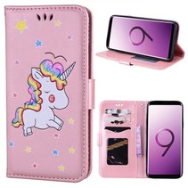 Booktype Hoesje Samsung Galaxy S9 Plus - Unicorn