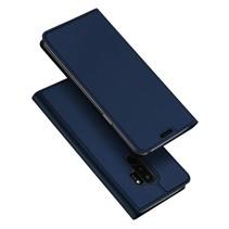 Booktype Hoesje Samsung Galaxy S9 Plus - Blauw