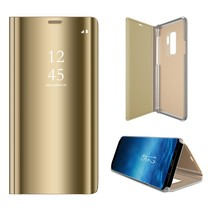 Booktype Hoesje Samsung Galaxy S9 Plus - Goud