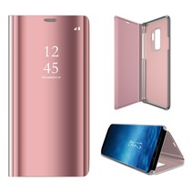 Booktype Hoesje Samsung Galaxy S9 Plus - Rose Goud