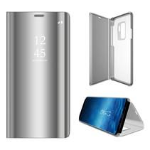 Booktype Hoesje Samsung Galaxy S9 Plus - Zilver