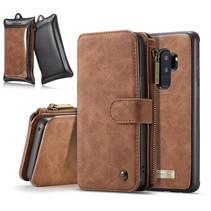 Booktype Hoesje Samsung Galaxy S9 Plus - Bruin