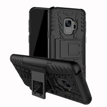 Hybrid Hoesje Samsung Galaxy S9 Plus - Zwart
