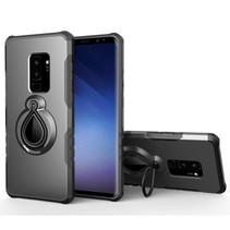 Hybrid Hoesje Samsung Galaxy S9 Plus - Grijs