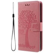 Booktype Hoesje Sony Xperia XA2 - Roze