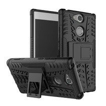Hybrid Hoesje Sony Xperia XA2 - Zwart