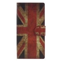 Booktype Hoesje Sony Xperia XA2 - Britse Vlag