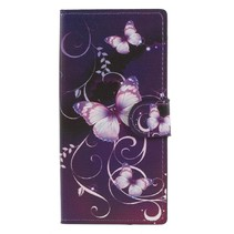 Booktype Hoesje Sony Xperia XA2 - Vlinders
