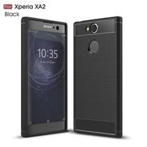 TPU Hoesje Sony Xperia XA2 - Zwart