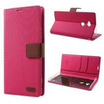 Booktype Hoesje Sony Xperia XA2 Ultra - Roze