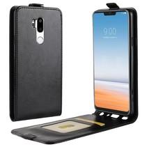 Flipcase Hoesje LG G7 ThinQ - Zwart