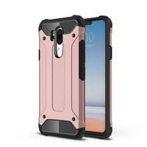 Hybrid Hoesje LG G7 ThinQ - Rose Goud