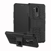Hybrid Hoesje LG G7 ThinQ - Zwart