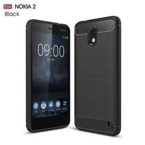 TPU Hoesje Nokia 2 - Zwart