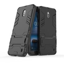 Hybrid Hoesje Nokia 2 - Zwart