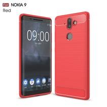 TPU Hoesje Nokia 9 / 8 Sirocco - Rood