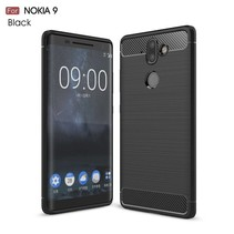 TPU Hoesje Nokia 9 / 8 Sirocco - Zwart