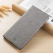 Booktype Hoesje Nokia 6.1 - Grijs