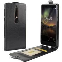 Flipcase Hoesje Nokia 6.1 - Zwart
