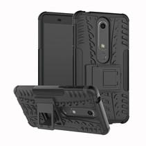 Hybrid Hoesje Nokia 6.1 - Zwart