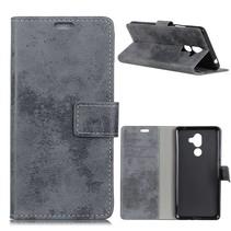 Booktype Hoesje Nokia 7 Plus - Grijs