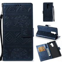 Booktype Hoesje Nokia 7 Plus - Blauw
