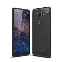 TPU Hoesje Nokia 7 Plus - Zwart