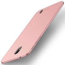 Hardcase Hoesje Nokia 1 - Rose Goud