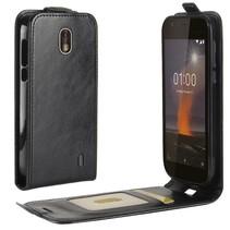 Flipcase Hoesje Nokia 1 - Zwart