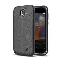 Litchee TPU Hoesje Nokia 1 - Zwart